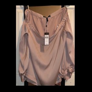 BCBGMAXAZRIA off the shoulder top